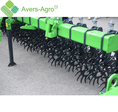 Harrow rotary Green Star 4.2 m with solid tools