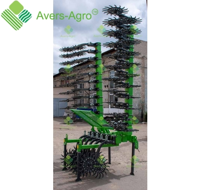 Harrow rotary Green Star 6.1 m Euro with solid tools