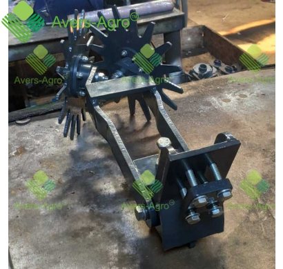 Double disс cleaner for Salford 520 drill
