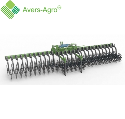 Harrow rotary Green Star 6,8 m Euro with replaceable teeth
