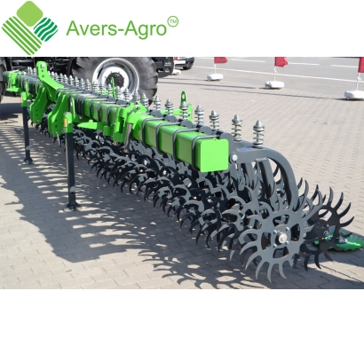 Harrow rotary Green Star 5.8 m with solid tools