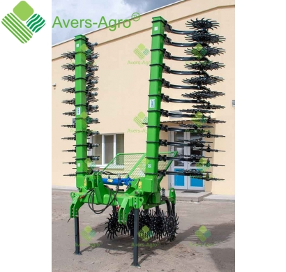 Harrow rotary Green Star 6.1 m Euro with replaceable teeth