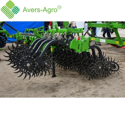 Harrow rotary Green Star 5.8 m with replaceable teeth