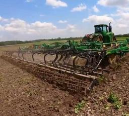 Video of the leveling basket for John Deere 1010 cultivator