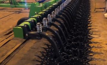 Відео огляду борони ротаційної Green Star 9 м Euro