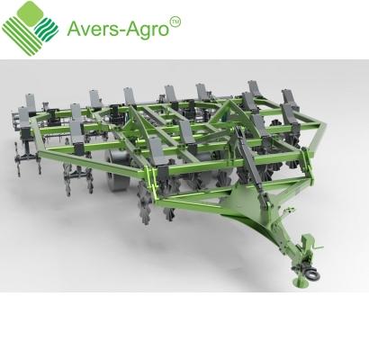 Verti-till турбокультиватор Green Wave 5,2 м. Гос.компенсация до 40%