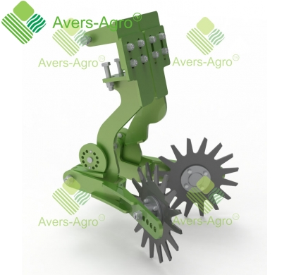 Row cleaner for Turbosem II 19-60 seeder dual
