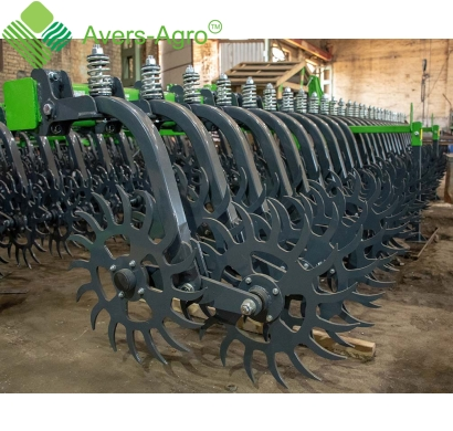 Harrow rotary Green Star 5.8 m with solid tools, solid frame