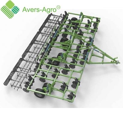 Verti-till турбокультиватор Green Wave 10,4 м. Гос.компенсация до 40%