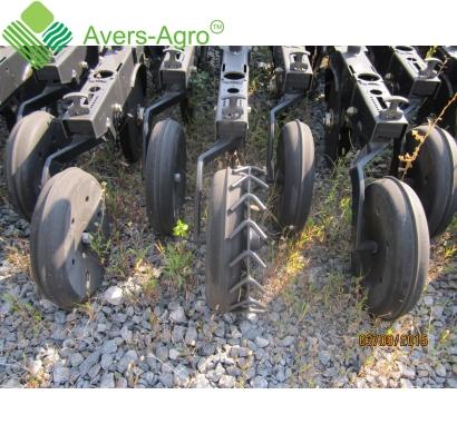 Modernization of furrow openers of seeders - wheel packer