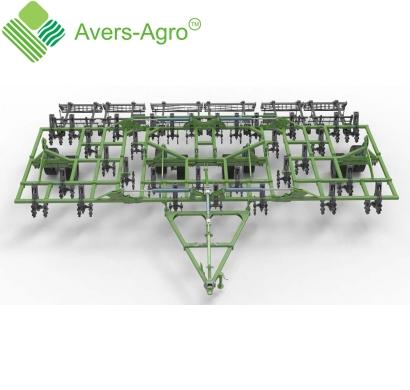 Verti-till турбокультиватор Green Wave 9,1 м. Гос.компенсация до 40%