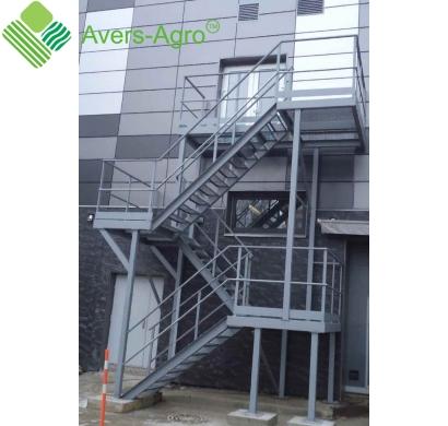 Изготовление металлических наружных, внутренних и пожарных лестниц