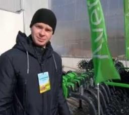 """Компания Аверс-Агро на выставке """"АГРОПРОМ-2020"""" в Днепре."""