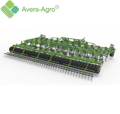 Культиватор поверхностной и среднеглубинной обработки Green Tiller 9,15 м