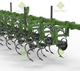 Видео обзора культиватора пропашного Green Razor навесного с шириной захвата 5,6 м.
