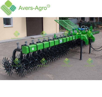 Harrow rotary Green Star 6.5 m Euro with replaceable teeth