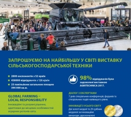 Международная выставка Agritechnica 2019
