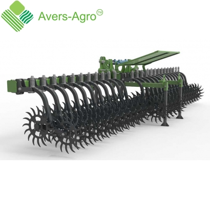 Harrow rotary Green Star 6.8 m Euro with solid tools