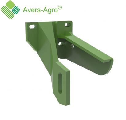 Arm support of row cleaner for opener John Deere
